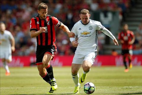 M.U vs Bournemouth Rooney