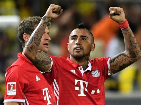 Tong hop Dortmund 0-2 Bayern Munich (Sieu cup Duc 2016) hinh anh