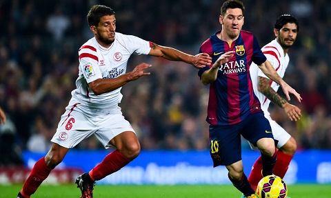 Barca vs Sevilla (luot ve Sieu cup TBN, 4h ngay 188) Dai tiec don cup hinh anh 2