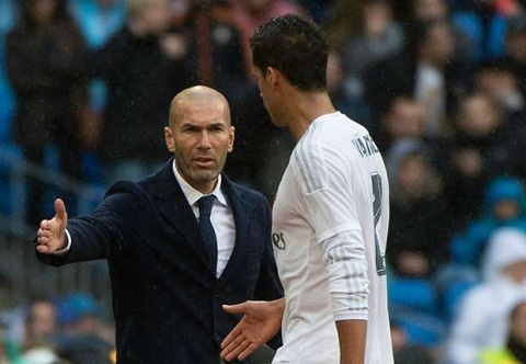 Varane o lai Real vi Zidane