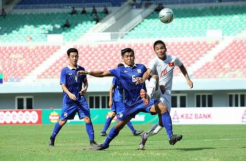 Tong hop: U19 Viet Nam 1-0 U19 Thai Lan (Cup Tu hung Myanmar 2016)