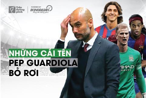 Infographic: Những cái tên bị Pep Guardiola bỏ rơi