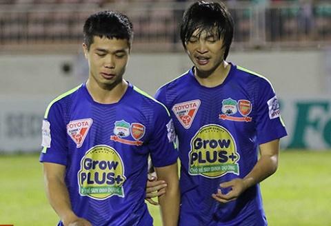 Cong Phuong, Tuan Anh ve thi HAGL van chi lo tru hang hinh anh