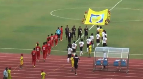 Tong hop: U19 Viet Nam 1-1 U18 Sapporo (KBZ Bank Cup 2016)