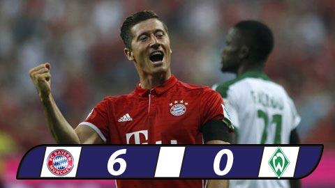Bayern Munich 6-0 Bremen Khai man hoanh trang hinh anh