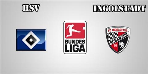 Kết quả hình ảnh cho Ingolstadt vs Hamburg