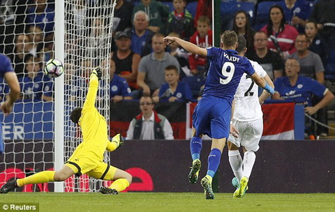 Video clip ban thang Leicester 2-1 Swansea (Vong 3 NHA 201617) hinh anh