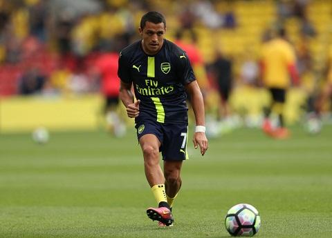 Du am Watford 1-3 Arsenal Dau hieu tich cuc tu tien dao Sanchez hinh anh