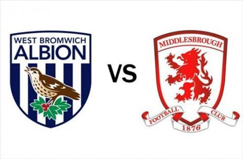Nhận định bóng đá West Brom vs Middlesbrough 22h00 ngày 2912 hình ảnh