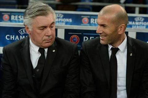 Ancelotti Zidane du suc dua Real Madrid toi thanh cong hinh anh