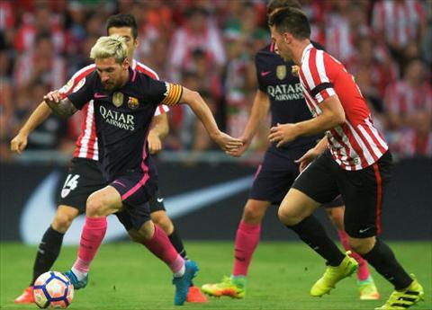 Barcelona sap gia han voi Messi va HLV Enrique hinh anh