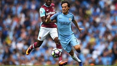 David Silva da choi cuc tot trong chien thang truoc West Ham