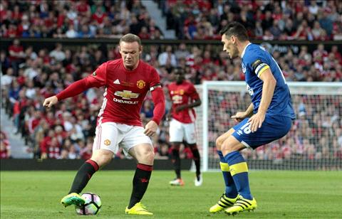 Rooney van hai long du Man United bi cam hoa hinh anh