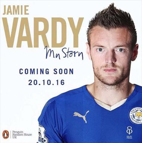 Tu truyen cua Jamie Vardy chua xuat ban da co hang nhai hinh anh