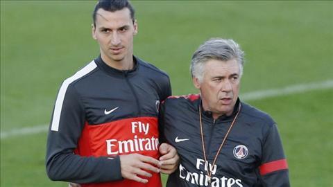 Tiet lo soc Ancelotti tung cho Ibrahimovic an giay bay nhu Beckham hinh anh