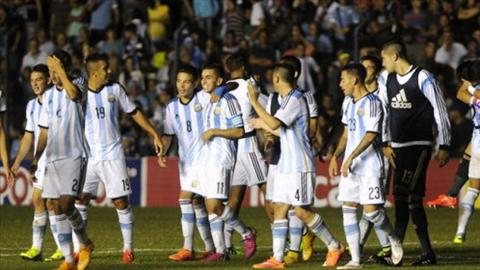 U23 Olympic Argentina vs U23 Algeria 04h00 ngay 88 tran dau vong bang mon bong da nam Olympic 2016 hinh anh