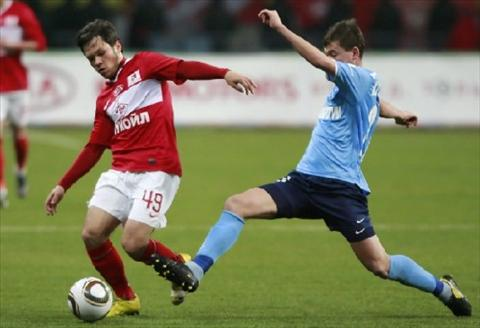 Spartak Moscow vs Krylya Sovetov 23h30 ngay 88 Vong 2 giai VDQG Nga 2016 hinh anh