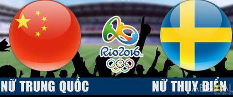 Nu Trung Quoc vs nu Thuy Dien 08h00 ngay 108 vong bang Olympic 2016 hinh anh