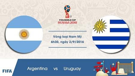 Nhan dinh Argentina vs Uruguay 06h30 ngay 0209 (VL World Cup 2016) hinh anh