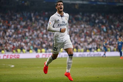 Alvaro Morata la ban hop dong duy nhat cua Real mua nay