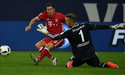 Tong hop Schalke 0-2 Bayern Munich (Vong 2 Bundesliga 201617) hinh anh