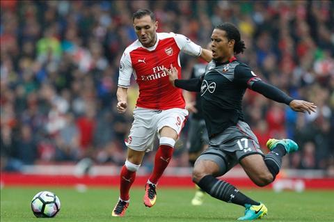 Arsenal thang nhoc Southampton Day! Nhung gi CDV Phao thu mong muon hinh anh