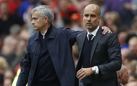 Sau derby Manchester, Mourinho va Guardiola khong the lam lanh vi... qua ban.