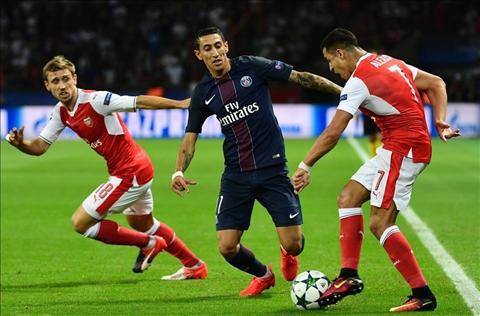 Arsenal vs PSG Sanchez Di Maria