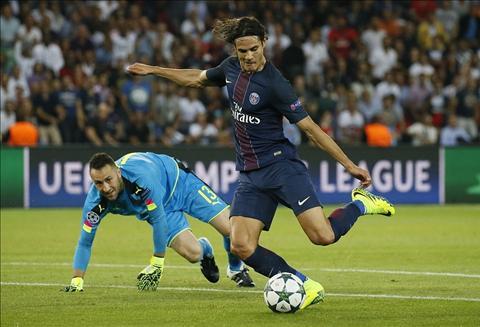 PSG 1-1 Arsenal, tien dao Edinson Cavani, hang cong PSG hinh anh 2