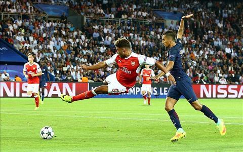 Bi Arsenal bo roi, Chamberlain tren duong roi EmiratesBi Arsenal bo roi, tien ve Chamberlain tren duong roi Emirates hinh anh