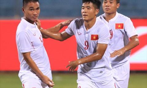 Clip ban thang U19 Viet Nam vs 4-3 U19 Philippines giai DNA 2016 hinh anh