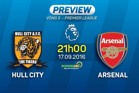 Hull City vs Arsenal (21h ngay 179) Phao thang nhoc tai hang ho hinh anh