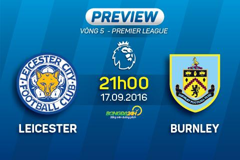 Leicester vs Burnley (21h ngay 179) Nha vua tro lai hinh anh