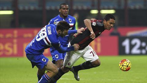 Tong hop Sampdoria 0-1 AC Milan (Vong 4 Serie A 201617) hinh anh