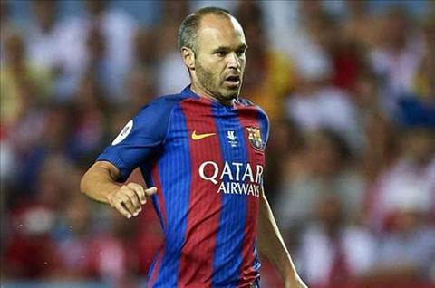 Tien ve Andres Iniesta, Barca vo dich La Liga, HLV Enrique hinh anh