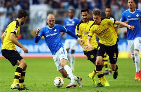 Tong hop Dortmund 6-0 Darmstadt (Vong 3 Bundesliga 201617) hinh anh