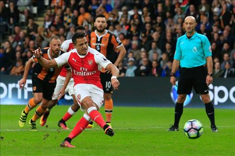 Arsenal vs Hull Sanchez