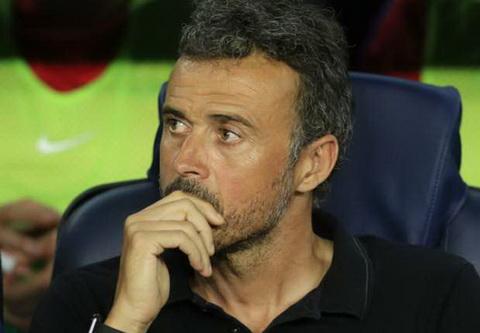 Luis Enrique tiet lo Barcelona khong quan tam den viec kiem soat bong.
