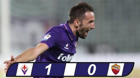 Fiorentina 1-0 AS Roma Thua dau vao phut chot hinh anh