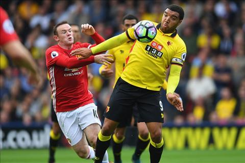 M.U vs Watford Rooney