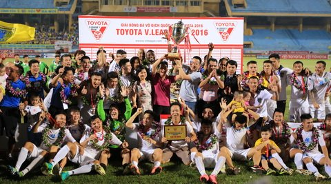 HNT&T vo dich V-League 2016 Ky tich, ky di va… ky thi hinh anh 2