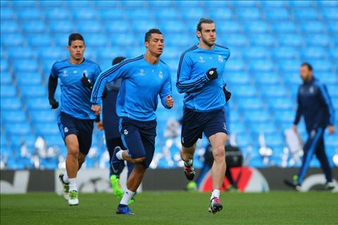 Diem tin Bongda24h sang ngay 209 Ronaldo va Bale tro lai tap luyen hinh anh