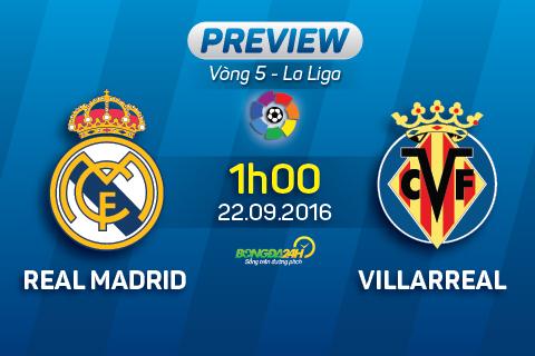 Real Madrid vs Villarreal (1h ngay 229) Quan trong la 3 diem! hinh anh