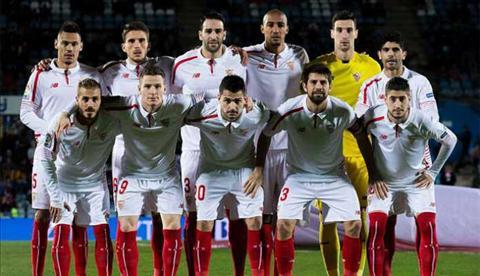 Sevilla la CLB dau tien ra san voi 11 cau thu khong mang quoc tich Tay Ban Nha tai La Liga.
