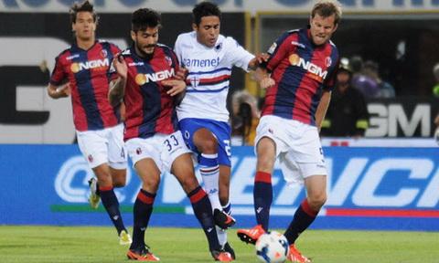 Nhan dinh Bologna vs Sampdoria 23h30 ngay 2109 (Serie A 201617) hinh anh