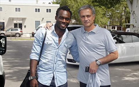 Essien coi Mourinho khong khac gi nguoi cha thu 2 cua minh