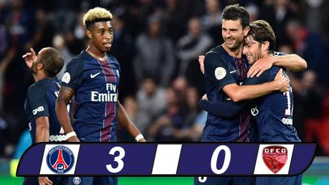 PSG 3-0 Dijon Tai chiem ngoi dau hinh anh