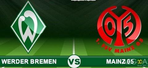Nhan dinh Werder Bremen vs Mainz 01h00 ngay 229 (Bundesliga 201617) hinh anh