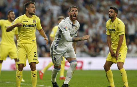 Tong hop Real Madrid 1-1 Villarreal (Vong 5 La Liga 201617) hinh anh