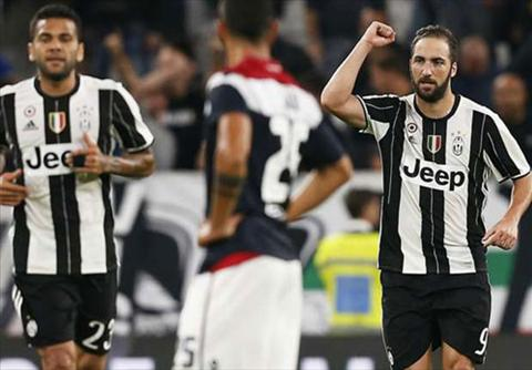 Tong hop Juventus 4-0 Cagliari (Vong 5 Serie A 201617) hinh anh